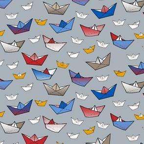 Fold a boat!