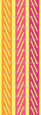 June Birthday - Stripe Coordinate