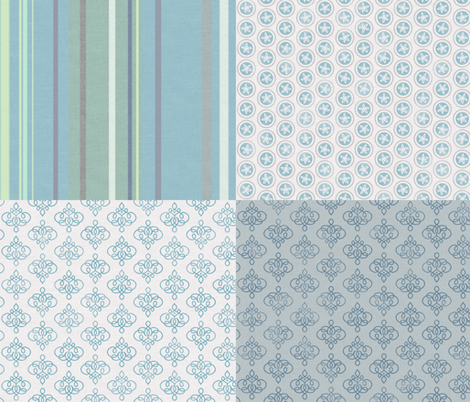 Jhali fabric by forest&sea on Spoonflower - custom fabric