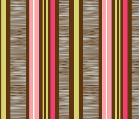 linear stripe combo 2 fabric by amel24 on Spoonflower - custom fabric
