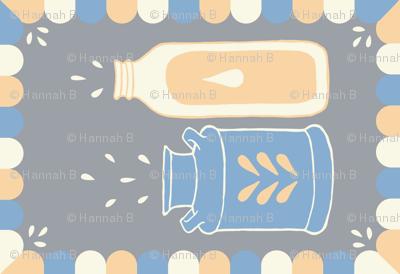 Splashing Jars Tea Towel