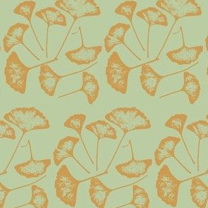 Ginko Leaves in Gold