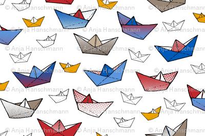 Fold a boat! 2