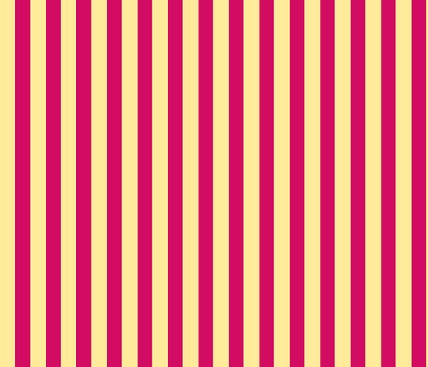 Fuchsia Sand Solid Stripe fabric by demouse on Spoonflower - custom fabric