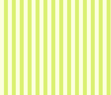 Cream Kiwi Solid Stripe fabric by demouse on Spoonflower - custom fabric