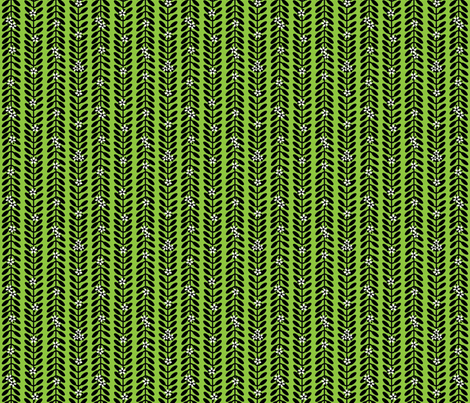 MioporumGREEN fabric by yellowstudio on Spoonflower - custom fabric