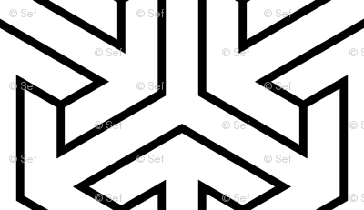 tri-arrow (thin outline)