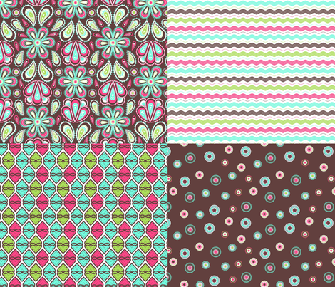Paisley garden additions fabric by cjldesigns on Spoonflower - custom fabric