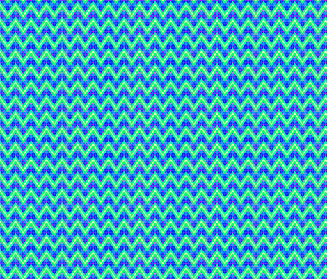 PlaidPointyStripe fabric by grannynan on Spoonflower - custom fabric