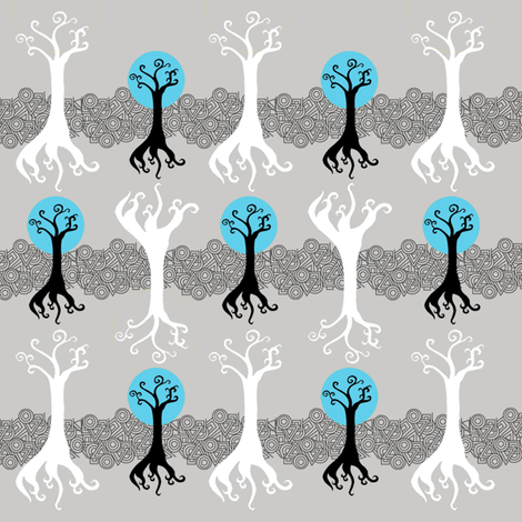 Roots fabric by longfellow on Spoonflower - custom fabric