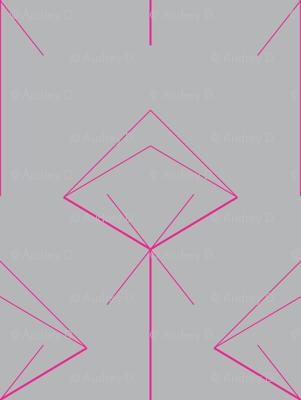 arrow X pink