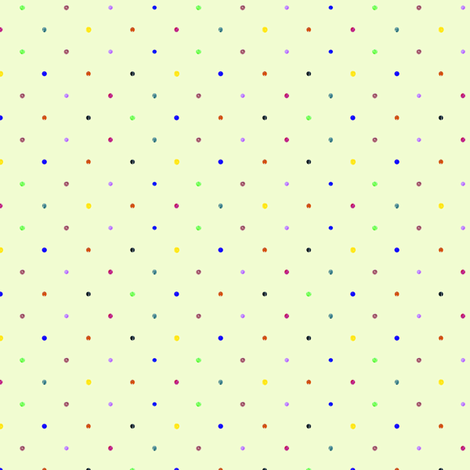 Crayon Dots fabric by brandymiller on Spoonflower - custom fabric