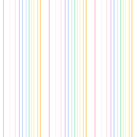 Rainbow Pastel - Thinstriped Fun -  © PinkSodaPop 4ComputerHeaven.com