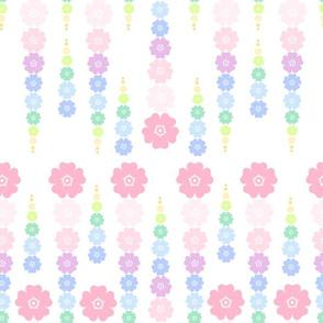 Rainbow Pastel - Flower Beads  -  © PinkSodaPop 4ComputerHeaven.com