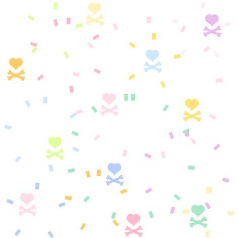 Rrrrrainbowpastelconfettiheartskullsbypinksodapop_shop_preview