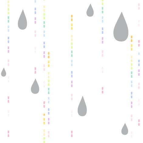 Rainbow Pastel - Drip Drops -  © PinkSodaPop 4ComputerHeaven.com