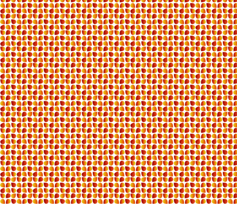 orange_leaves fabric by terriaw on Spoonflower - custom fabric