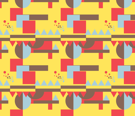 artdeco2 fabric by patternlike on Spoonflower - custom fabric