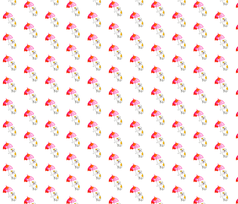 Dog_Umbrella fabric by dailycandy on Spoonflower - custom fabric