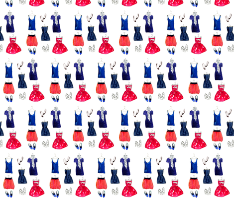Tribeca Girl fabric by dailycandy on Spoonflower - custom fabric