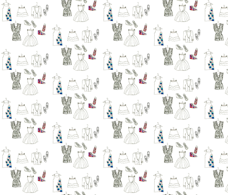 Chelsea Girl fabric by dailycandy on Spoonflower - custom fabric