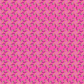 woodland teepee coordinate: pink fireworks