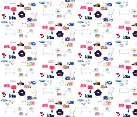 Mi Casa fabric by dailycandy on Spoonflower - custom fabric