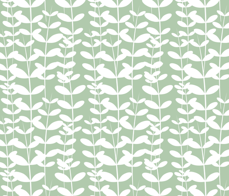 Robin Weed fabric by tradewind_creative on Spoonflower - custom fabric