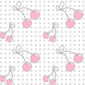 Rainbow Pastel - Pink Cherries -  © PinkSodaPop 4ComputerHeaven.com