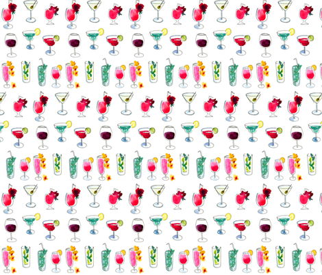 Happy Hour fabric by dailycandy on Spoonflower - custom fabric