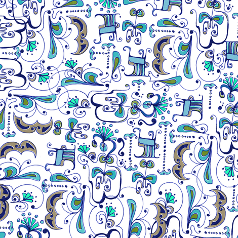 Abstract fabric by mandakay on Spoonflower - custom fabric