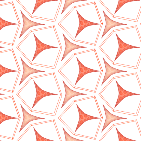 geometric fabric by glimmericks on Spoonflower - custom fabric