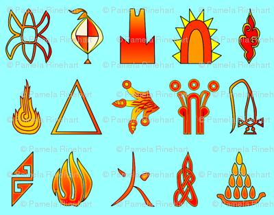 Fire Glyphs