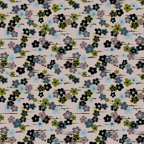 Liberty Floral fabric by gimlet on Spoonflower - custom fabric