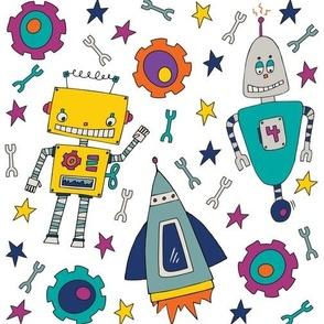 Rockets, Sprockets & Robots