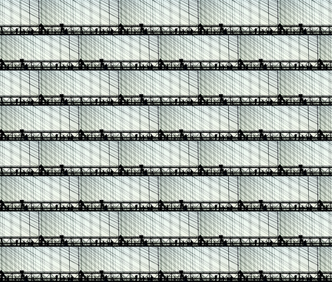 Brooklyn Crossing fabric by relative_of_otis on Spoonflower - custom fabric
