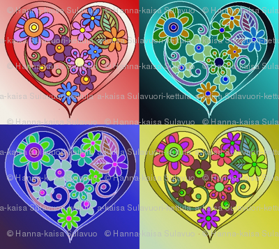 four_heart_with_flowers