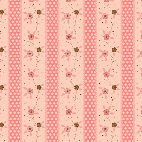 Pink Dream Room fabric by eppiepeppercorn on Spoonflower - custom fabric