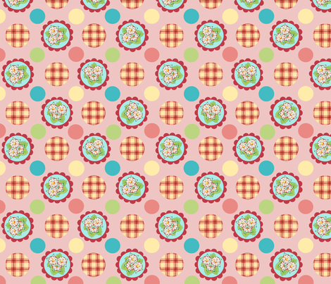 Heidi Folkloric Polka Dot by Patricia Shea fabric by patricia_shea on Spoonflower - custom fabric