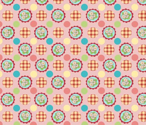 Heidi Folkloric Polka Dot by Patricia Shea fabric by patriciasheadesigns on Spoonflower - custom fabric