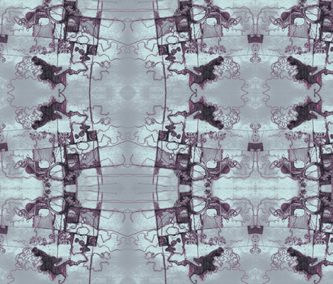 looking down fabric by lizzabit on Spoonflower - custom fabric
