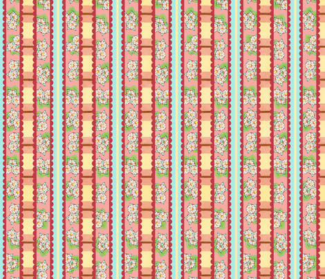 Heidi Folkloric Stripes by Patricia Shea fabric by patricia_shea on Spoonflower - custom fabric