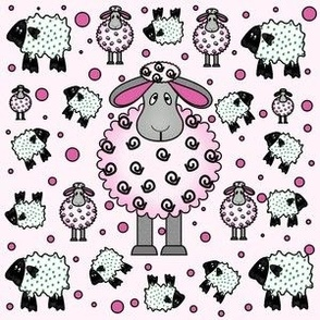 Pink Sheep for girls