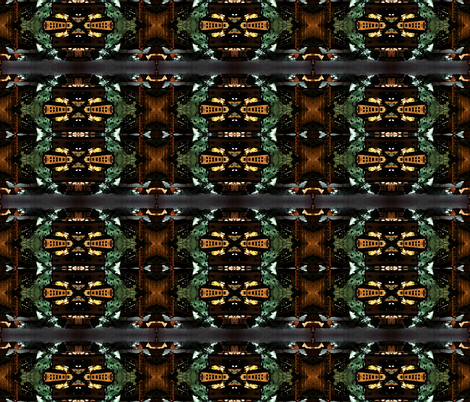 Escape to a City's center Canton, Ohio fabric by tracydb70 on Spoonflower - custom fabric