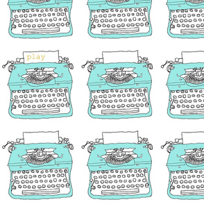 typewriters at play: 3""