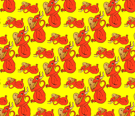 cookie thief fabric by hannafate on Spoonflower - custom fabric