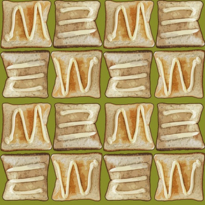 Toast with mayo alt