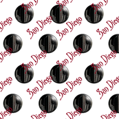 San Diego Cityscape Bubbles