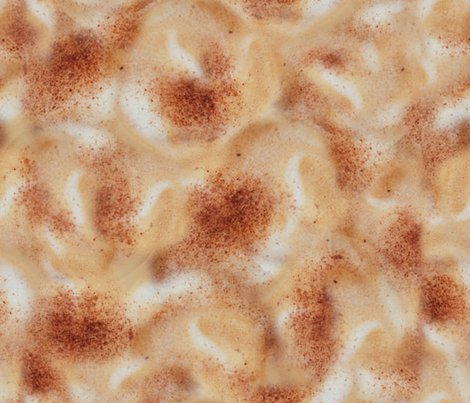 Cappuccino fabric by jabiroo on Spoonflower - custom fabric