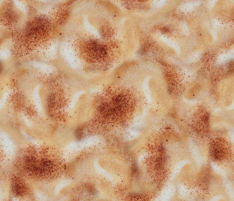 Cappuccino fabric by jabiroo on Spoonflower - custom fabric